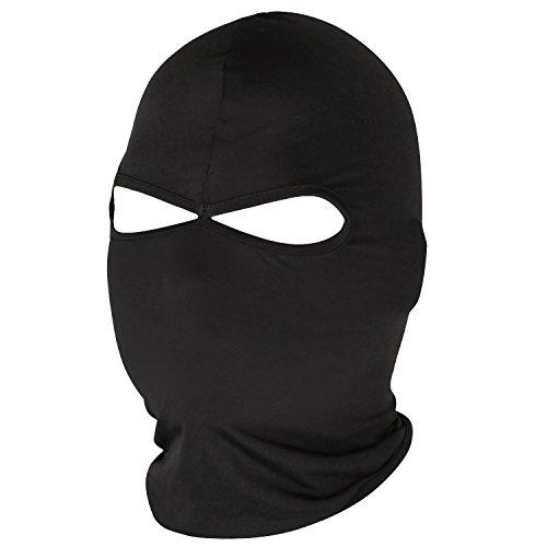 TRIXES Cagoule Noire Lycra Visage Entier Masque pour Moto à l' Extérieur prix et achat