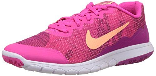 Nike Flex Experience Run 4 Premium, Basket Femme, Rose PNK FL Snst GLW FCHS Flsh Whit, 39 EU