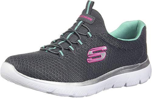 Skechers Summits Baskets de sport pour femme - Gris - gris, 38 EU