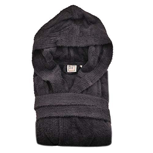 Peignoir Art. Abbraccio - Différentes couleurs - 100 % éponge de pur coton avec capuche et 2...