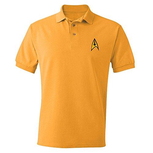 Star Trek - Polo - Homme - Or - Doré - petit