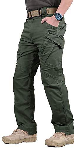 Digralne Hommes Tactique Pantalon Cargo Pantalon Combat Casual Pantalon de Combat Tactique...