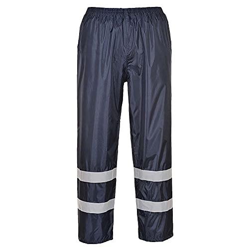 Portwest F441Iona Pantalon de pluie classique, XL, Bleu marine
