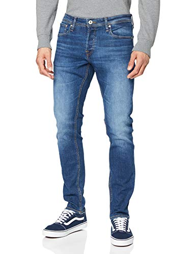 Jack & Jones Jjiglenn Jjoriginal Am 814 Noos Jeans, Blue Denim, 32W / 32L Homme