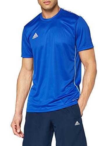 adidas Core 18 Training Jersey Maillot d'entraînement Homme - Bleu/Blanc - FR : 3XL (Taille...