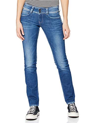 Pepe Jeans Gen Jeans Femme, Bleu (10oz Str 8dip Royal Dk), 26W / 30L