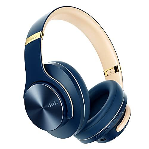 Casque Bluetooth sans Fil, DOQAUS Casque Audio Stéréo Hi-FI 52 Heure de Lecture, 3 Modes EQ,...