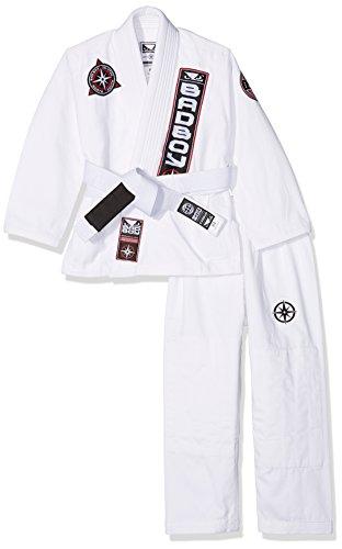 Bad Boy North South Kimono de JJB Mixte Enfant, Blanc, FR Unique (Taille Fabricant : K2)
