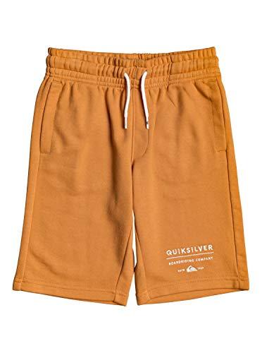 Quiksilver™ Easy Day - Short molletonné - Garçon Enfant 8-16 Ans - Orange