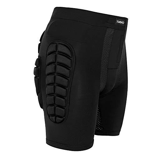 TOMSHOO Short de Protection Hip Pad Pantalon de Protection Cyclisme pour Patinage Snowboard...