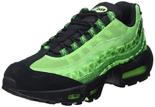Nike AIR Max 95 CTRY, Chaussure de Course Homme, Pine Green/Black-Sub Lime-White, 42 EU