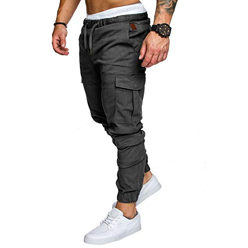 Pantalons Homme Sarouels Pantalons de Jogging Pantalons Jogger Casual Danse Sportwear Baggy...