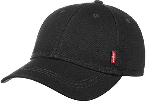 Levi's Classic Twill Red Tab Cap Baseball Casquette, Schwarz (Black), one size Herren