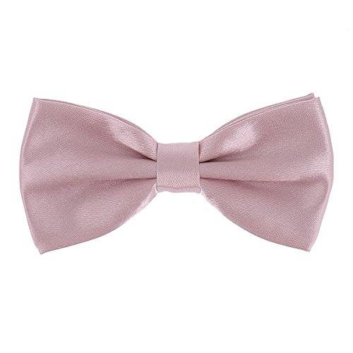 Cravate, Noeud Papillon et Pochette Costume Rose Vieilli - Vieux Rose (Noeud Papillon)