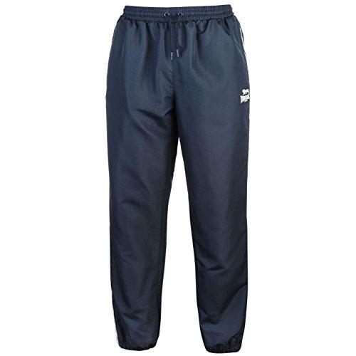 Lonsdale Pantalon de sport 2 bandes pour homme - Bleu - XX-Large