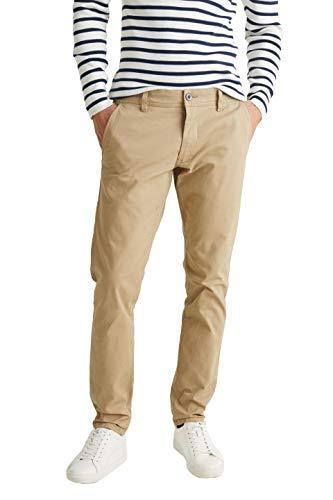 ESPRIT 088ee2b002 Pantalon, Beige (Beige 270), W38/L34 (Taille Fabricant: 38/34) Homme