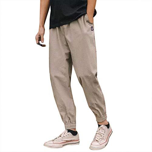 manadlian Homme Pantalon Jogging Sarouel Survêtement Sweat Pants Sport Longue Slim Fit Jean...