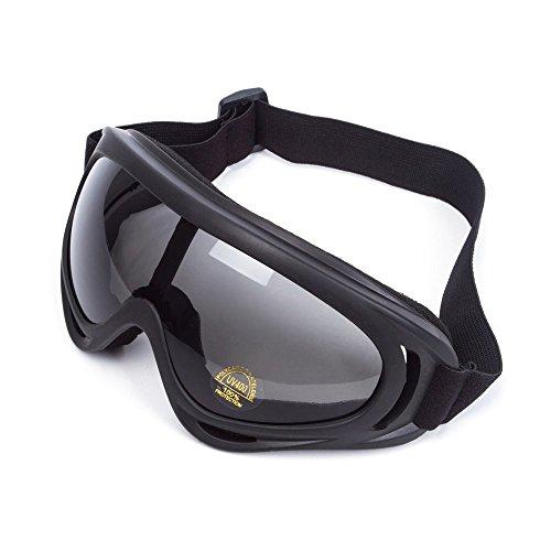 Lunettes de Protection Masque de Visage Incassable Anti-UV Coupe-Vent Anti-Poussière...