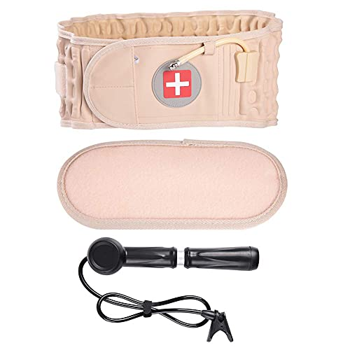 Ceinture gonflable - Support Dos Ceinture Lombaire douleur de décompression de ceinture de taille de soins de santé gonflable soulager la ceinture arrière prix et achat