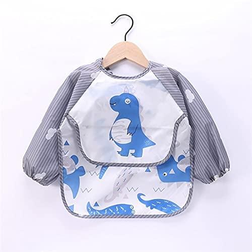 UKKD Bavoir 2P Foulard à Manches Longues pour Enfants Etanche Art Workwear Workwear...
