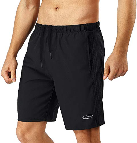 MOBIUSPHY Short Sport Homme Shorts de Sport Running Shorts Gym Football Short Jogging Hommes...