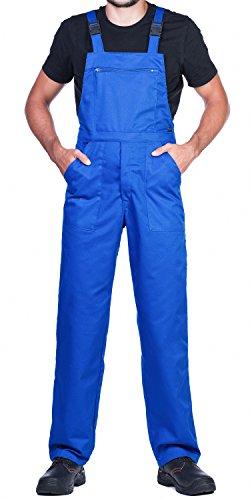 Salopettes de travail pour hommes,bleu. Un produit avec un rapport exceptionnel prix/qualité -...