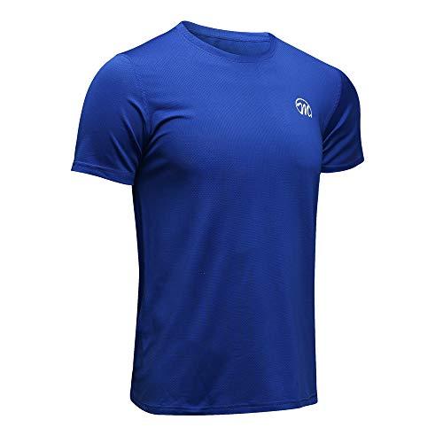 MEETWEE T-Shirt de Sport Homme, Baselayer Manches Courtes Maillot Running Tee Shirt Vetement de...