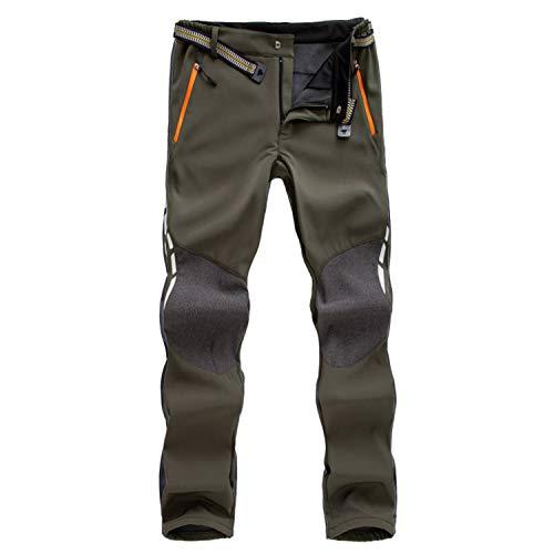 7VSTOHS Pantalon de randonnée Confortable pour Hommes Pantalon Chaud Coupe-Vent Escalade Marche Casual Pantalon pour Hiver/Automne/Printemps/été