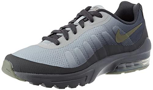 Nike Air Max Invigor GS Running Shoe Mixte Enfants - - Iron Grey Volt Grey Fog White, 39 EU EU