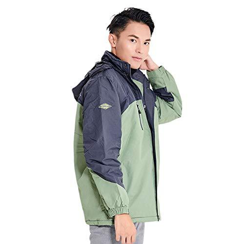 AUED Costume chauffée, Intelligent vêtements Chauffage Alpinisme Chaud Coton d'hiver Costume...