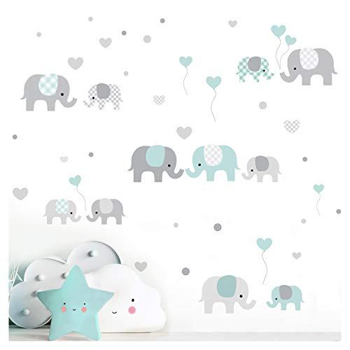 Little Deco DL340 Sticker mural décoratif pour chambre d'enfant...