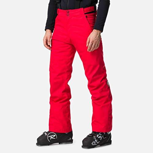 Rossignol Pant Pantalon de Ski Homme, Sports Rouge, L
