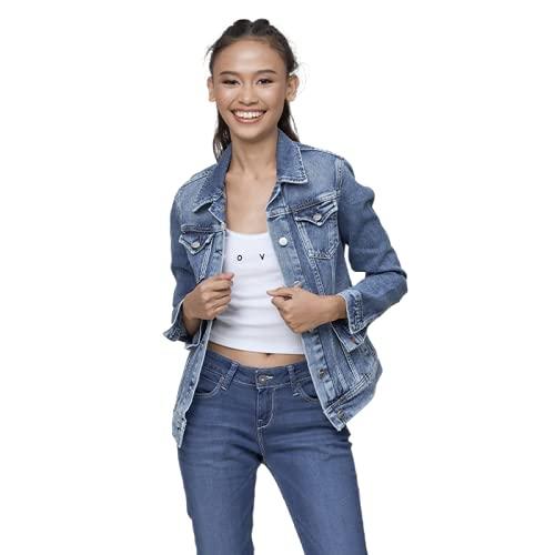 Pepe Jeans Thrift PL400755CF7 Robe, Bleu (Denim Cf7), Medium Femme prix et achat