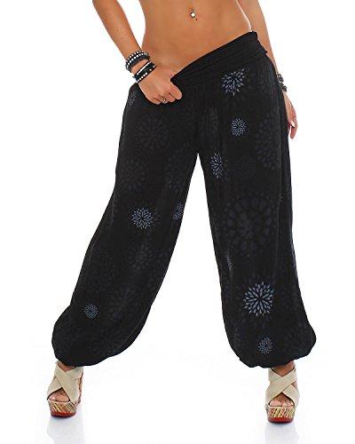 Pantalon ZARMEXX pour femme - Sarouel - Pantalon d'été - Décontracté - Taille unique -...