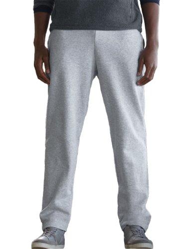 Fruit of the Loom - Pantalon de Jogging - Homme (XL) (Gris)