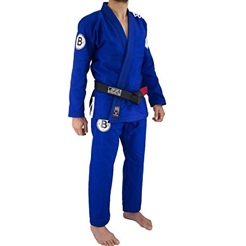 Kimono de JJB Bõa Armor De Competição 3.0 - Bleu - Bleu, A1S