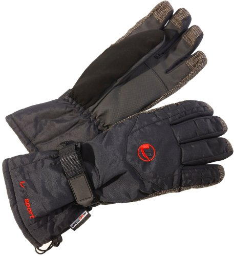 Ultrasport - Gants de ski homme - Noir - S