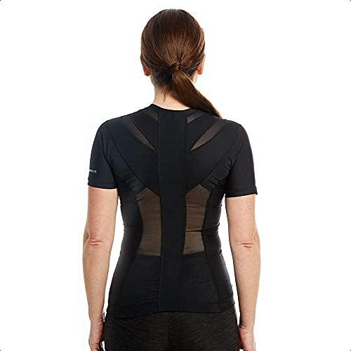 Anodyne Posture Shirt 2.0 Zipper (avec fermeture éclair) - Femmes | Correcteur De Posture Du Dos & Épaules | Posture Corrector Tee Shirt | Réduit la douleur et la tension | prix et achat