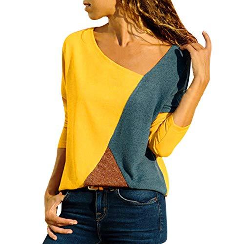 ITISME 2020 Nouveau Pas Cher T-Shirt Femme Pull Mode Automne Hiver O-Cou Solide en Maille Ample...