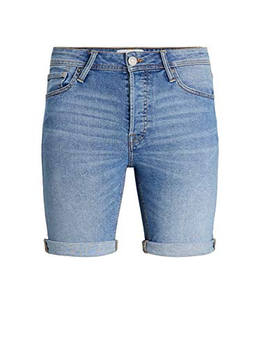 Jack & Jones JJIRICK Jjoriginal Shorts NA 030 Jean, Bleu Denim, M Homme