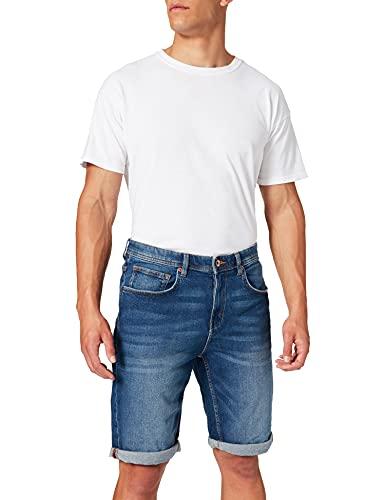 Esprit 041EE2C323 Jeans-Shorts, 902/BLUE Medium Wash, 38 Homme prix et achat
