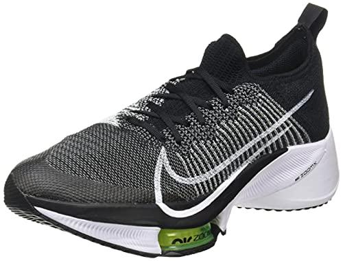 Nike AIR Zoom Tempo Next% FK, Chaussure de Course Homme, Black/White-Volt, 41 EU prix et achat