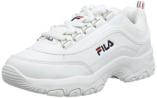 FILA Strada kids Sneaker Mixte enfant, blanc (White), 33 EU