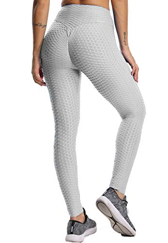 FITTOO Leggings de Sport Anti-Cellulite Femme Pantalon de Fitness Collant de Compression Taille...