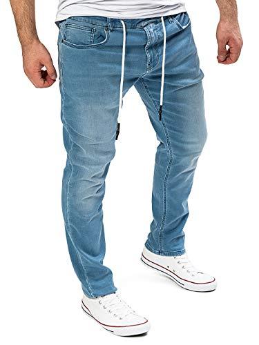 Yazubi Homme Jean Pantalon de Sport Erik- Sweatpants Jogging, Bleu (Estate Blue 194027), W29/L30