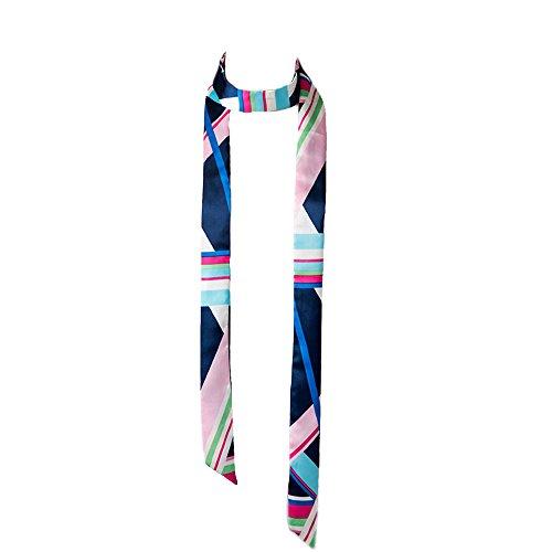 HIDOUYAL Foulard Cravat 195 * 5cm en Satin