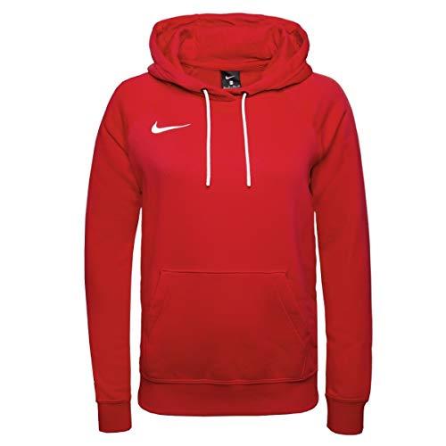 Nike Sweat à Capuche de Football à Manches Longues en Molleton pour Femmes, Rouge (Université/Blanc), S prix et achat