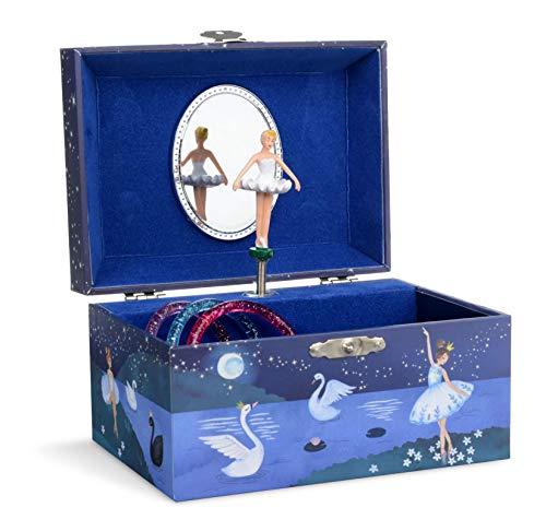 Jewelkeeper - Boîte à Bijoux Musicale Ballerine pour Filles - Mélodie Le Lac des Cygnes