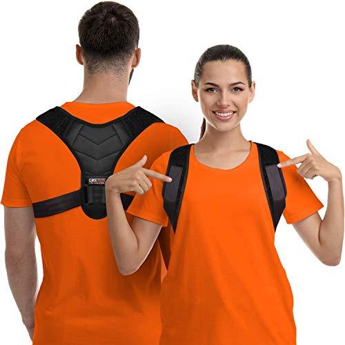 Correcteur de posture pour homme et femme, soutien du haut du dos pour la clavicule, redresseur du dos réglable et soulagement de la douleur du cou, du dos et des épaules, (universel) prix et achat