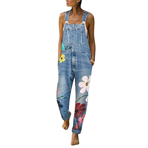 ❤Femmes Jeans Chic, YUYOUG Denim Mode Femme Salopette Sexy Longue Barboteuses Salopette De Jumpsuits Jeans Pant Pantalon